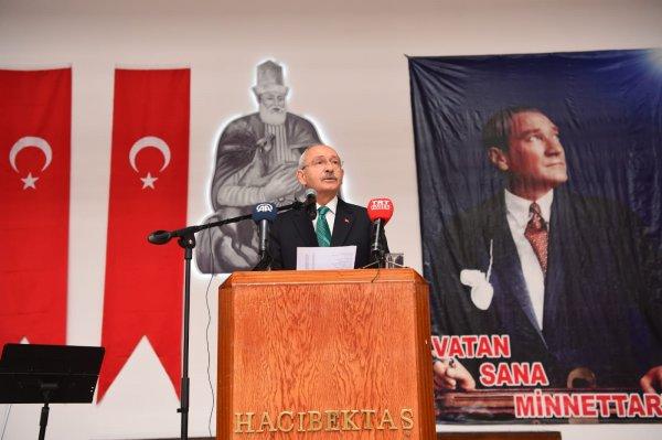 Kılıçdaroğlu Hacı Bektaş Veli Anma Törenleri'nde