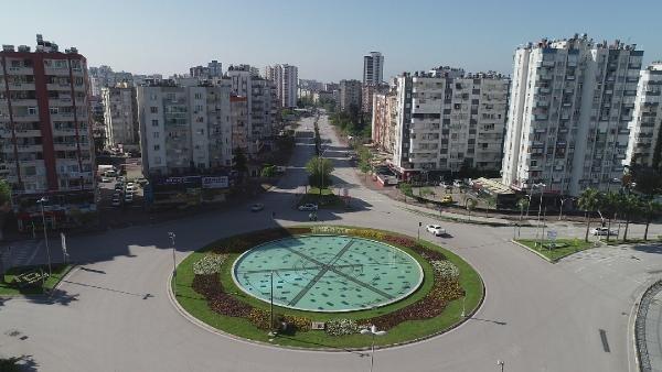 Sokağa çıkma yasağıyla Adana sokakları boşaldı - Gerçek Gündem
