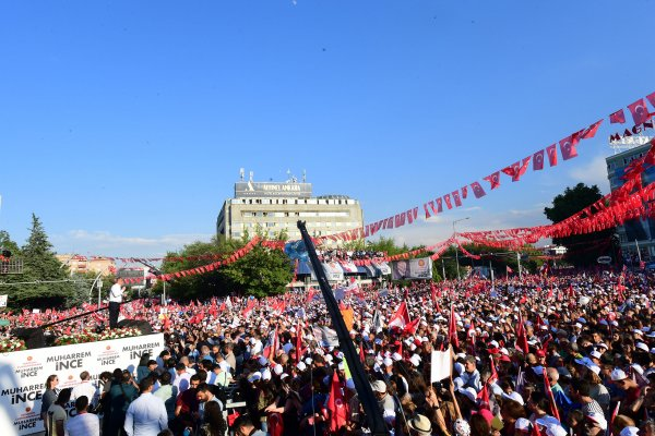 Muharrem İnce'nin Ankara Tandoğan Mitingi'nden kareler
