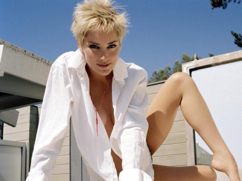 Sharon Stone neden çıplak poz verdiğini açıkladı - Gerçek