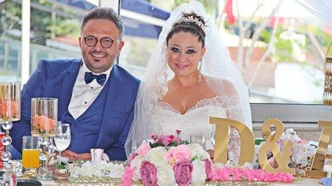 Derya Şen ve Ayvaz Akbacak evlendi