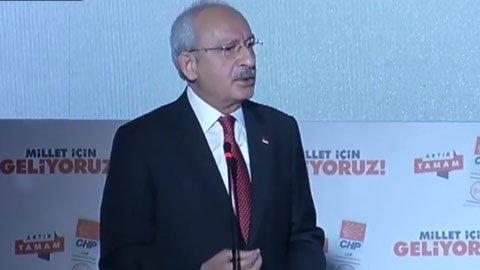 CANLI- Kılıçdaroğlu seçim bildirgesini açıkladı