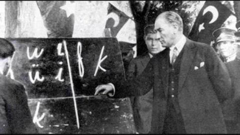 İlkokulda Atatürk karşıtı anket
