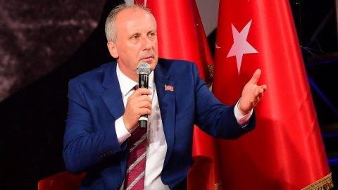 İnce'den flaş İstanbul mitingi açıklaması: Cumhuriyet tarihinin...