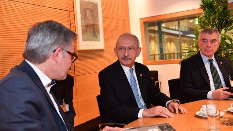 Kılıçdaroğlu Almanya'da temaslarda bulundu