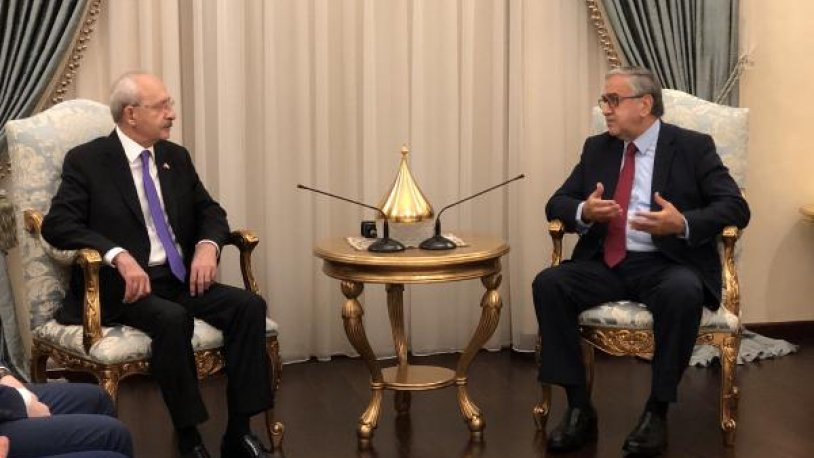 Kılıçdaroğlu: Kıbrıs davasına en başından beri sahip çıkan partiyiz