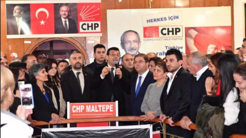 Ekrem İmamoğlu'ndan Ali Kılıç'a ziyaret