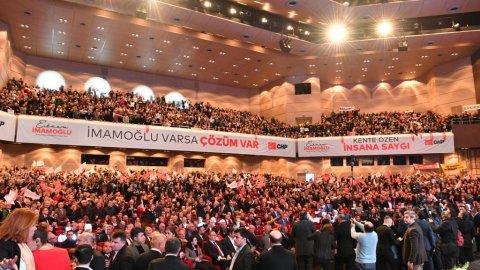 CHP'den coşkulu Ekrem İmamoğlu tanıtım toplantısı