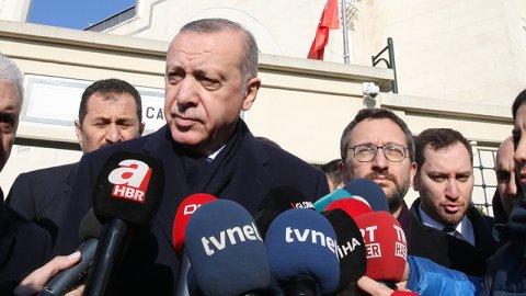 SON DAKİKA: Erdoğan'dan Münbiç açıklaması