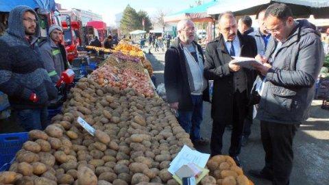 Yozgat Haberleri: Yozgatta market ve pazarda fiyat denetimi