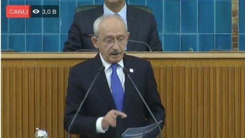 Kılıçdaroğlu: Yeni bir gelenek başlatıyoruz