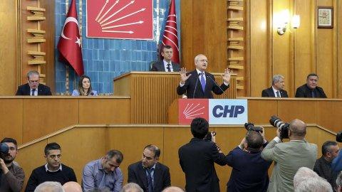 CHP 12 Şubat grup toplantısı