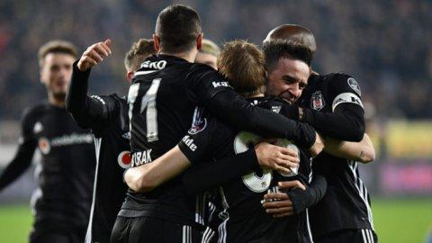 Beşiktaş Malatya'da 3'ledi