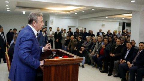 Mansur Yavaş, Ankara'da esnafı ziyaret etti