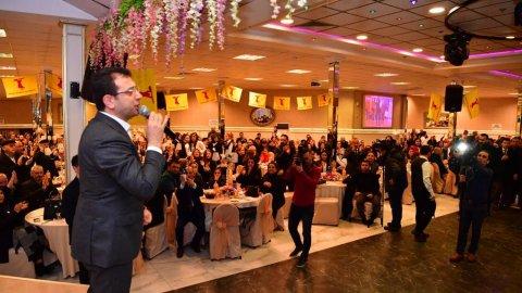 Ekrem İmamoğlu, Alevi vatandaşlarla buluştu
