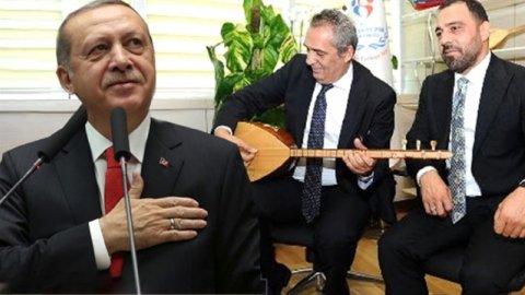 Saray ünlüleri Erdoğan'ın doğum günü için yollara düştü