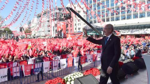 Kılıçdaroğlu, Uşak mitinginde konuştu