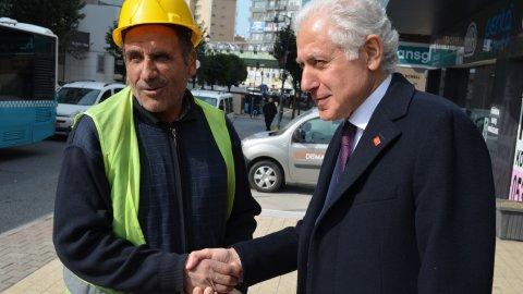 CHP Şişli Belediye Başkan Adayı Muammer Keskin halkla buluştu