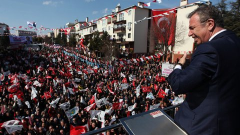 Mansur Yavaş'tan Mehmet Özhaseki'ye: Cesaretin varsa açıkla!