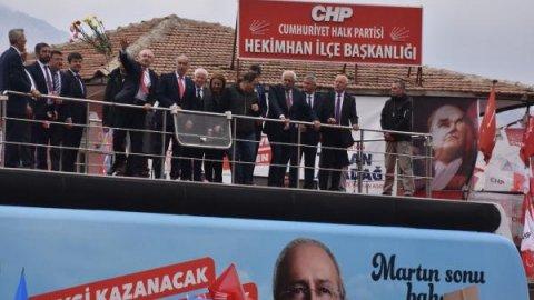 Kemal Kılıçdaroğlu Malatya Hekimhan'da
