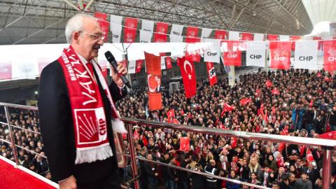 Kılıçdaroğlu, Besni'de halka hitap etti