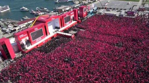 AKP ve MHP'nin Yenikapı İstanbul Mitingi'ne kaç kişi katıldı? Erdoğan açıkladı...