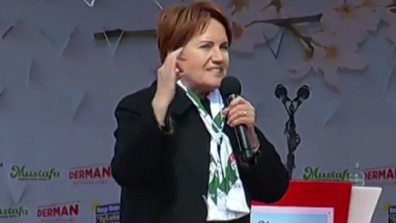 Meral Akşener'den Erdoğan'a: Elinden geleni ardına koyma