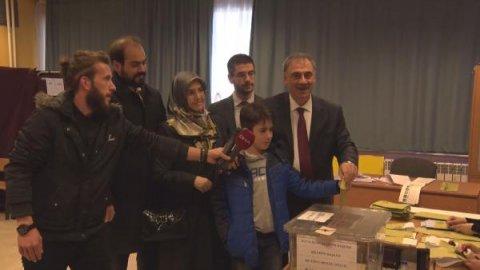 BTP'nin İstanbul adayı Selim Kotil oyunu kullandı