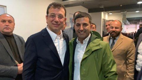 Başkan Ömer Günel İmamoğlu'na desteğe geldi