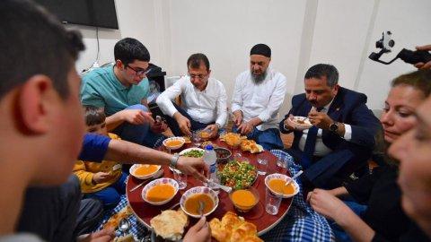 Ekrem İmamoğlu'ndan Cebrail Gümüştepe'nin ailesine ziyaret