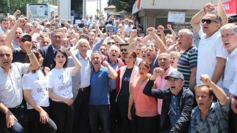 Canan Kaftancıoğlu'ndan Uzel işçilerine destek