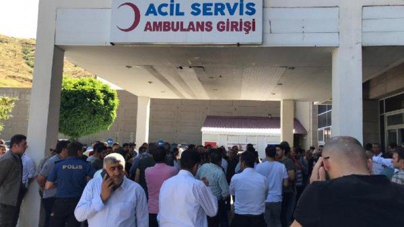 Bitlis'te roketli saldırı: 1 binbaşı şehit düştü