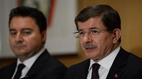 Ahmet Davutoğlu ve Ali Babacan birleşmesine 'finans' engeli