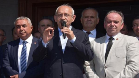 Kılıçdaroğlu'na yumurtalı provokasyon!