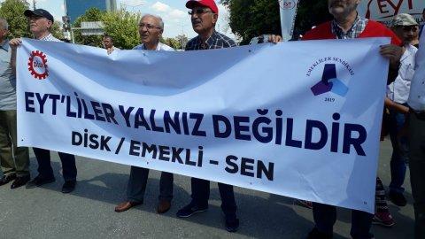 Emeklilikte Yaşa Takılanlar bugün Ankara'da buluştu