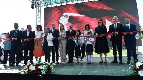 Kılıçdaroğlu, Merkezefendi Belediyesi Kazım Arslan Parkı açılış törenine katıldı