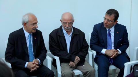 Kılıçdaroğlu ve İmamoğlu'ndan Tuzla yangınında yaralanan itfaiye personeline ziyaret
