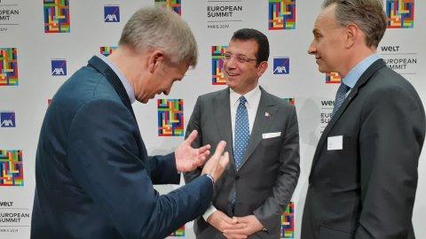 Ekrem İmamoğlu, Avrupa Ekonomi Zirvesi'nde konuştu