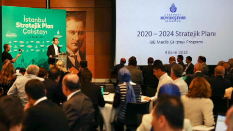 İBB'den İstanbul 2020-2024 Stratejik Plan Çalıştayı