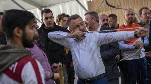 Fuat Oktay Etnospor'da açıklamalarda bulundu
