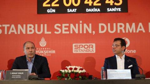 İmamoğlu, Vodafone İstanbul Maratonu tanıtım toplantısında konuştu
