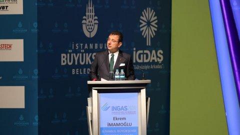 İBB Başkanı Ekrem İmamoğlu, 8. Uluslararası Doğal Gaz Kongre ve Fuarı'nda