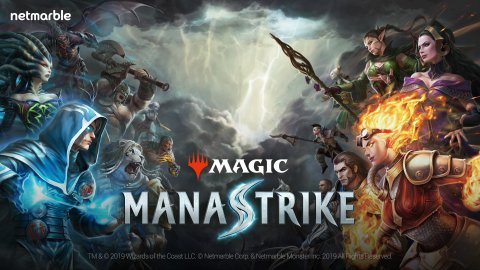 Netmarble'dan yeni oyun; Magic: ManaStrike