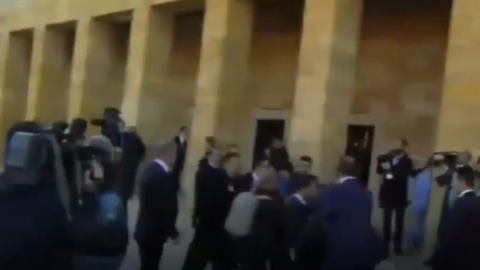CHP'den Anıtkabir'de yaşanan skandala sert tepki!