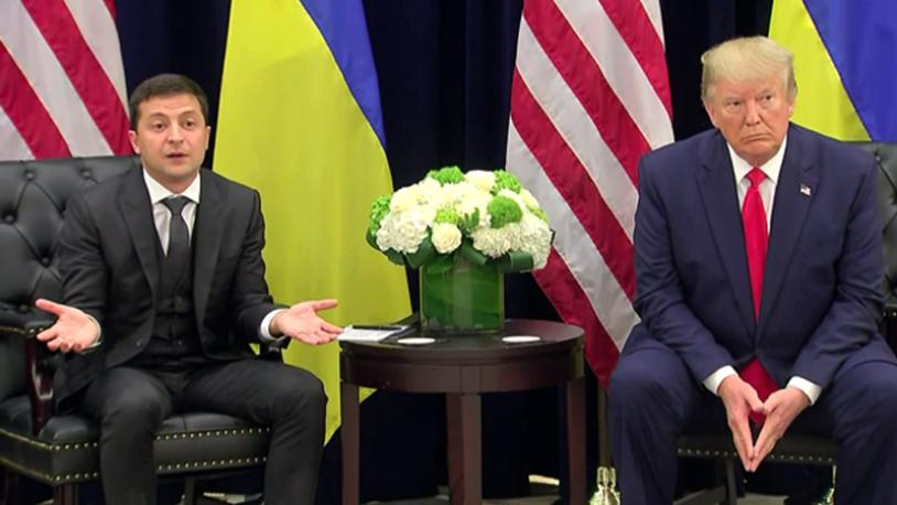Beyaz Saray'dan 'azil' hamlesi! Trump ve Zelenskiy'in görüşmesi yayımlandı