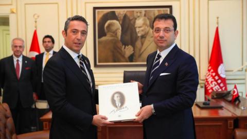 Fenerbahçe'den İBB Başkanı Ekrem İmamoğlu'na ziyaret