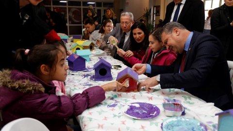 Edremit Belediyesi Kus Yuvalarini Renklendirdi Gercek Gundem