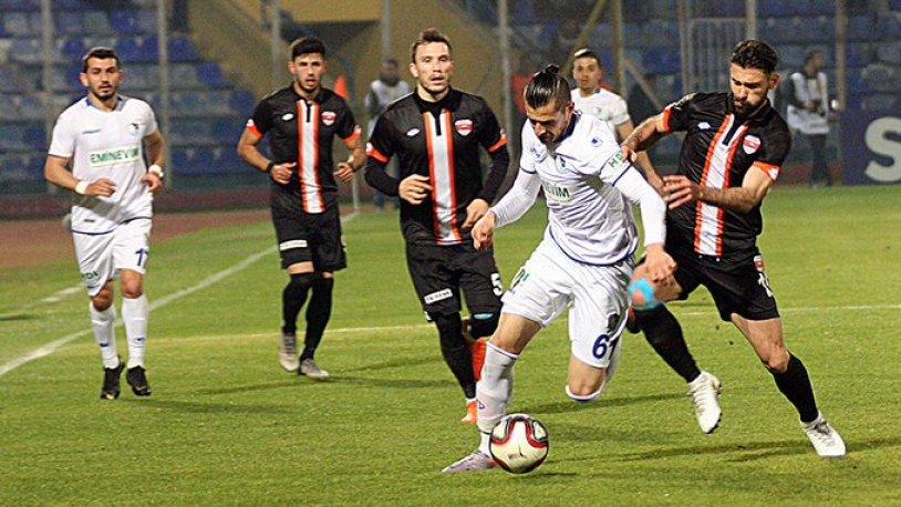 Adanaspor – BB Erzurumspor maçında gol sesi çıkmadı