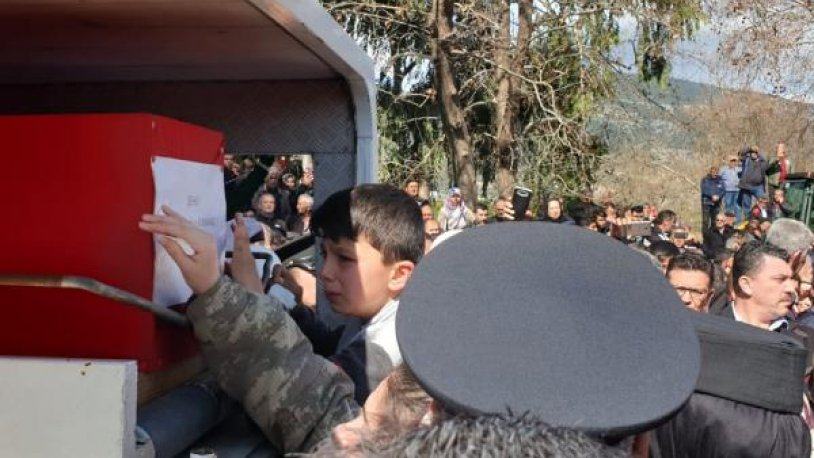Piyade Uzman Onbaşı Turgut Burkay Korkmaz son yolculuğuna uğurlandı
