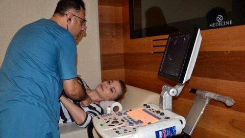 Songül Karlı hastaneye kaldırıldı